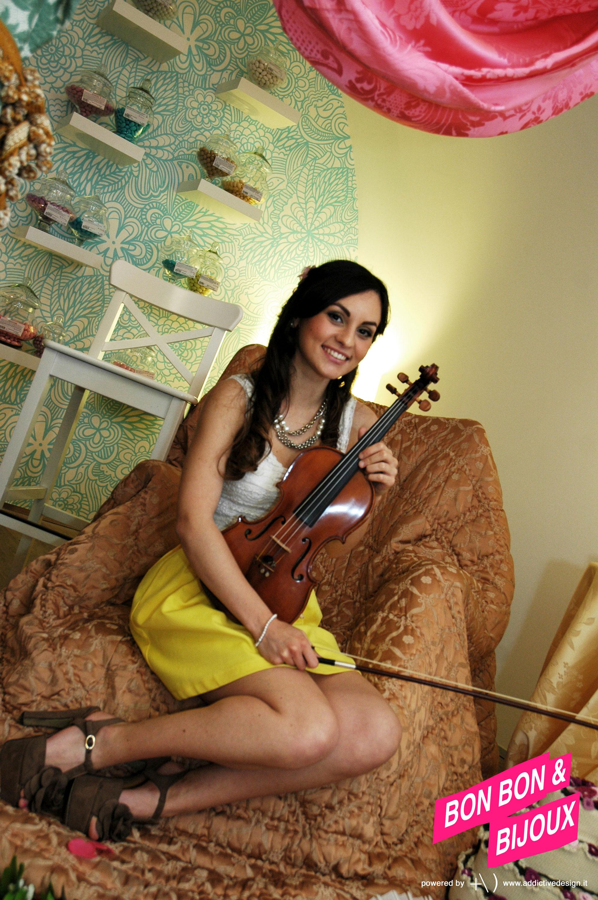 bonbon & bijoux violinista