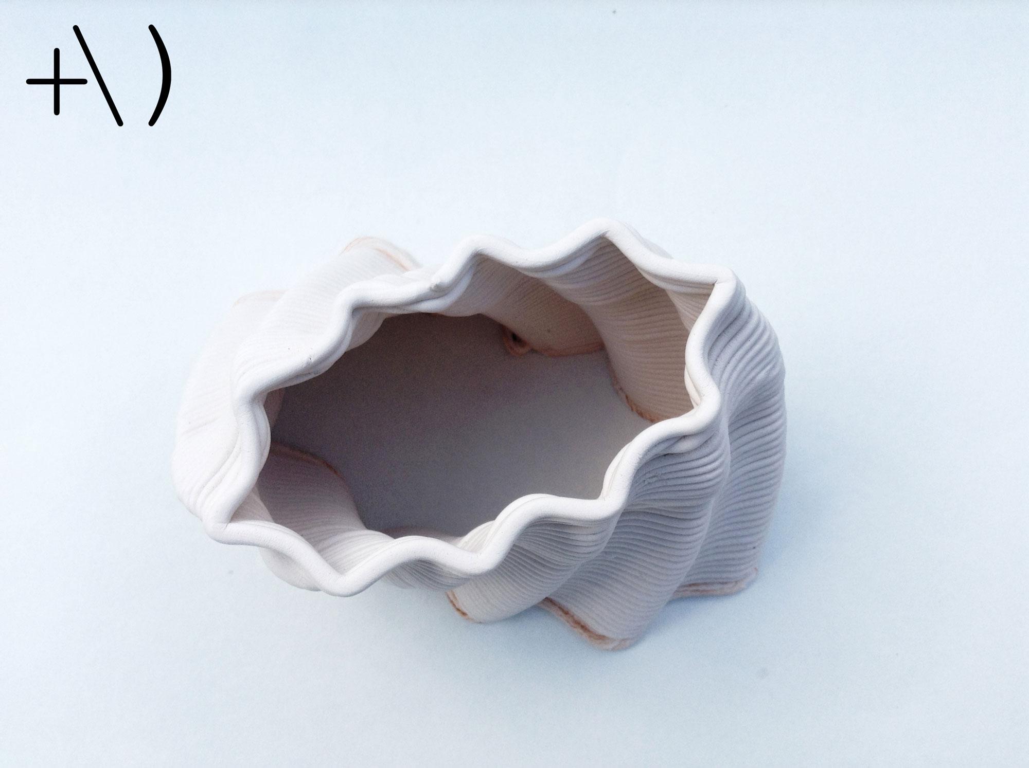 computational clay design torsione dall'alto