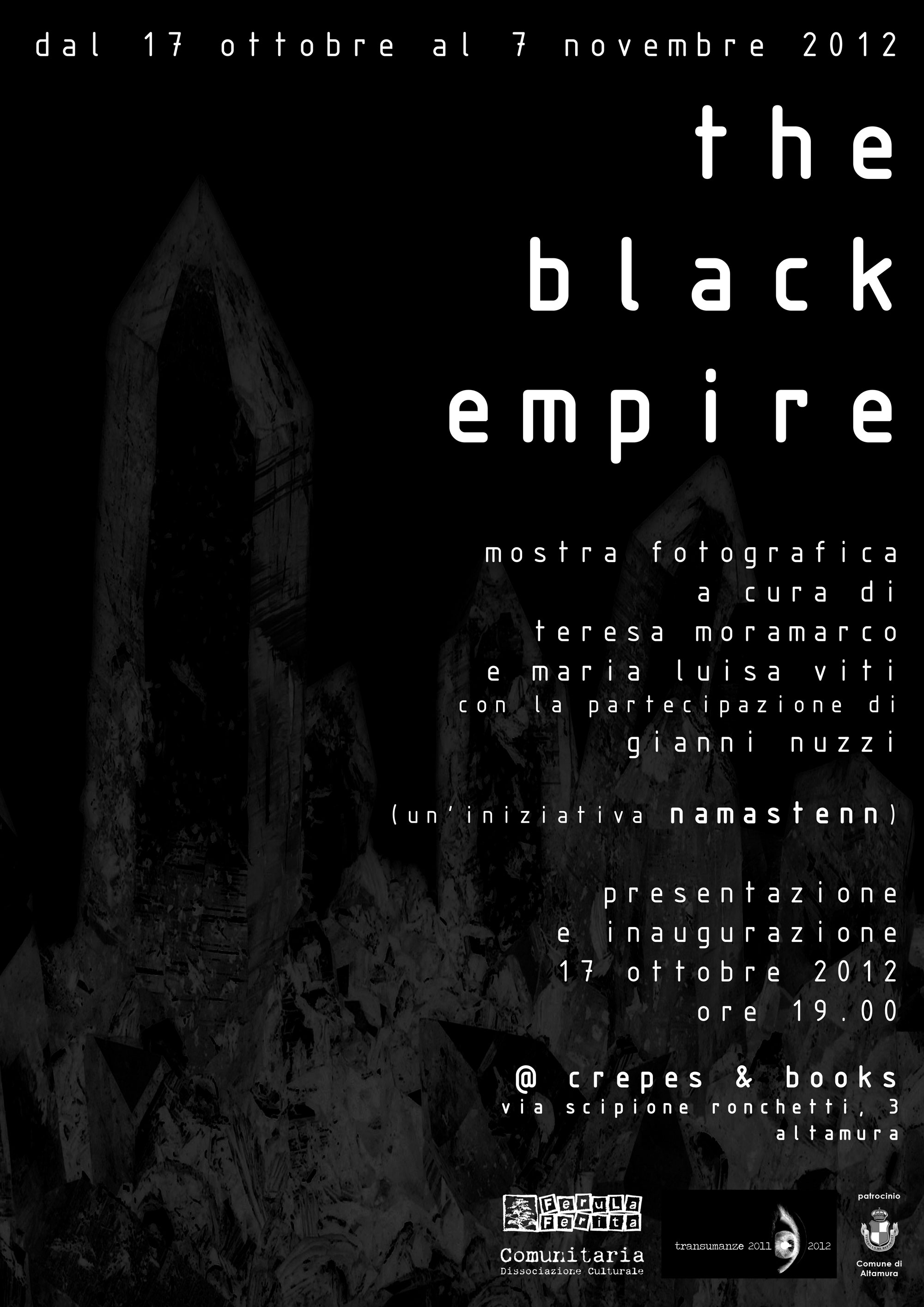 the black empire locandina