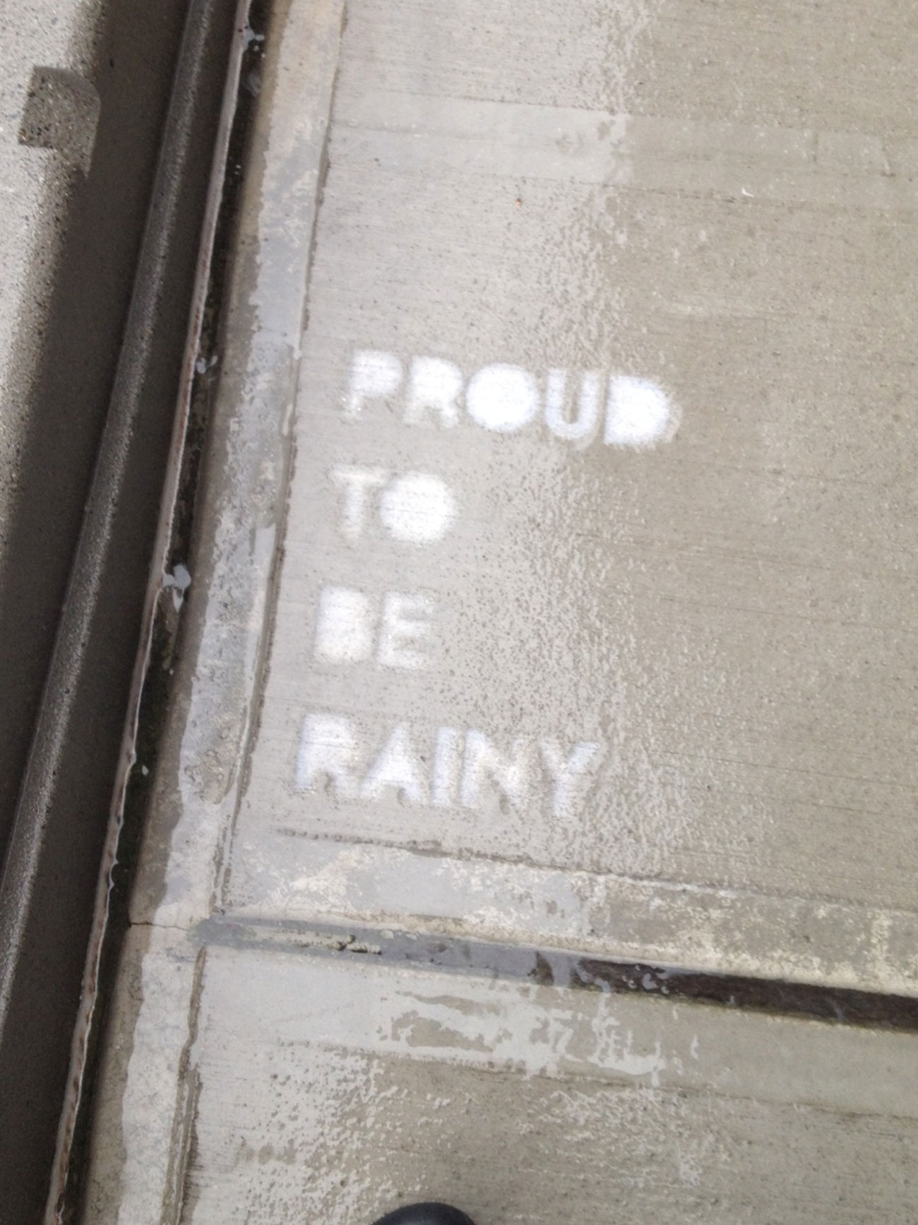 rainworks proud to be rainy