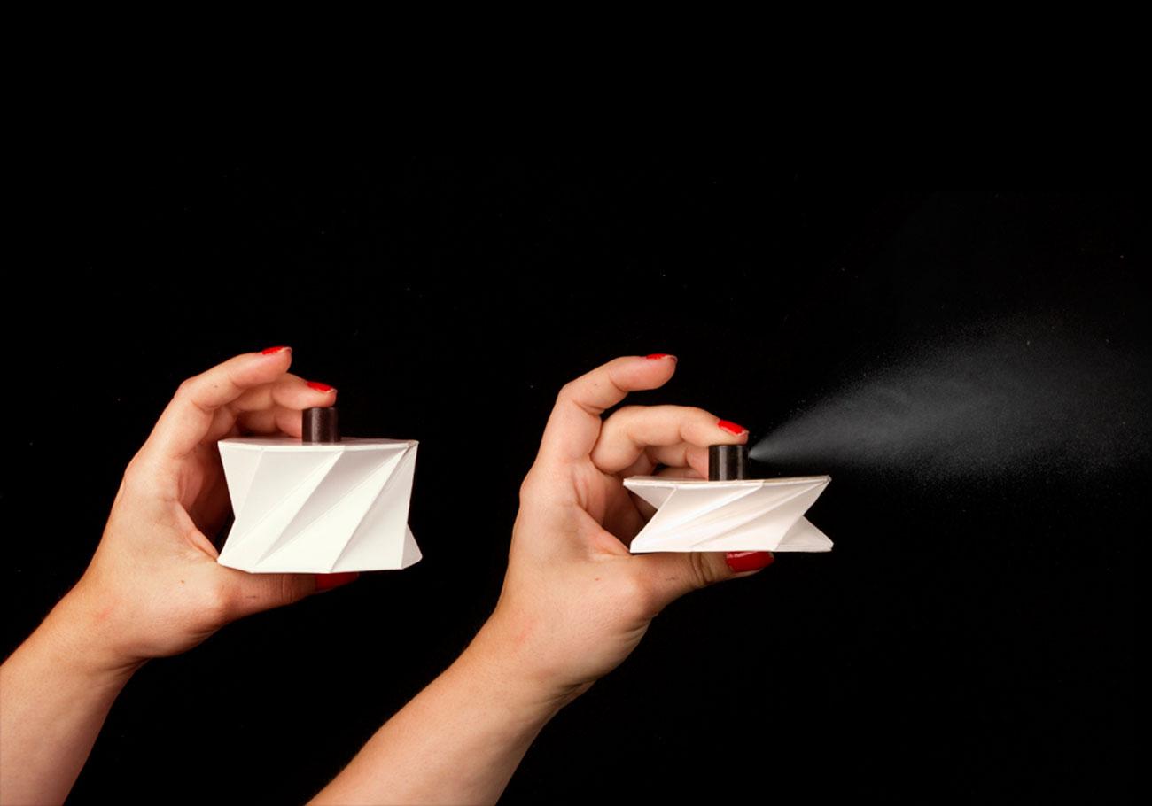 Leroux Cardboard Perfume