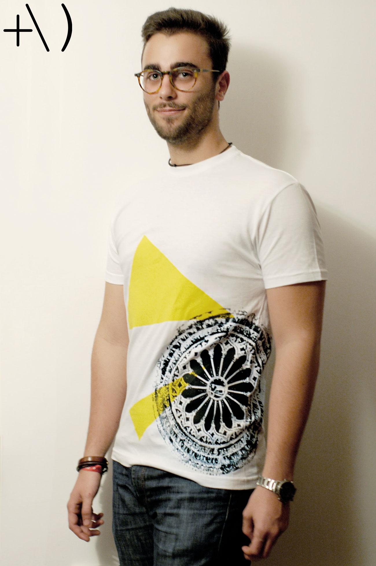 federicus 2015 male t-shirt altamura giallo