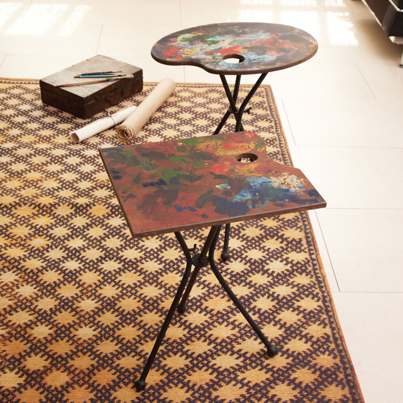 palette table Dransfield and Ross