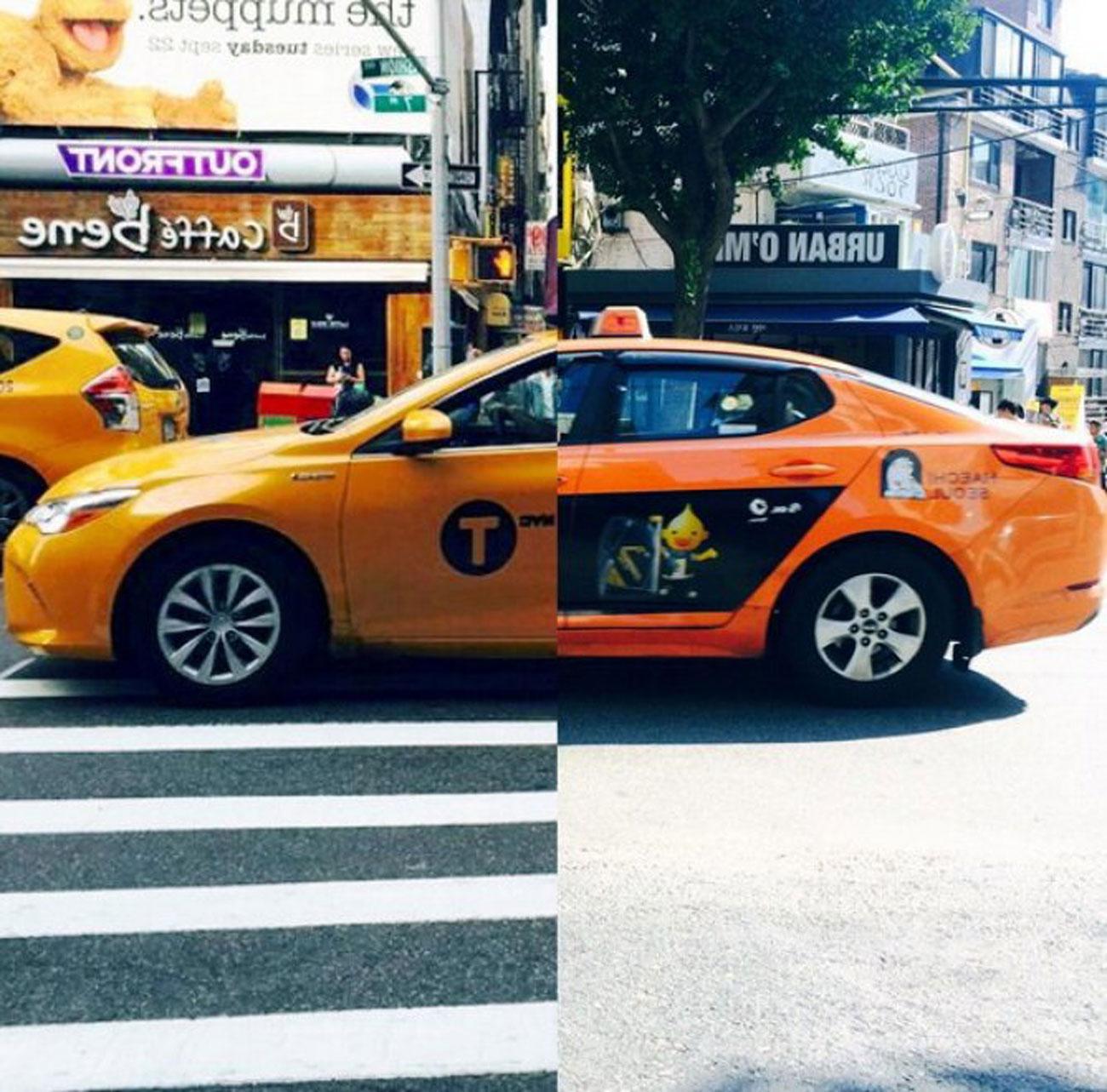 LISEOK e SHINDANBI taxi