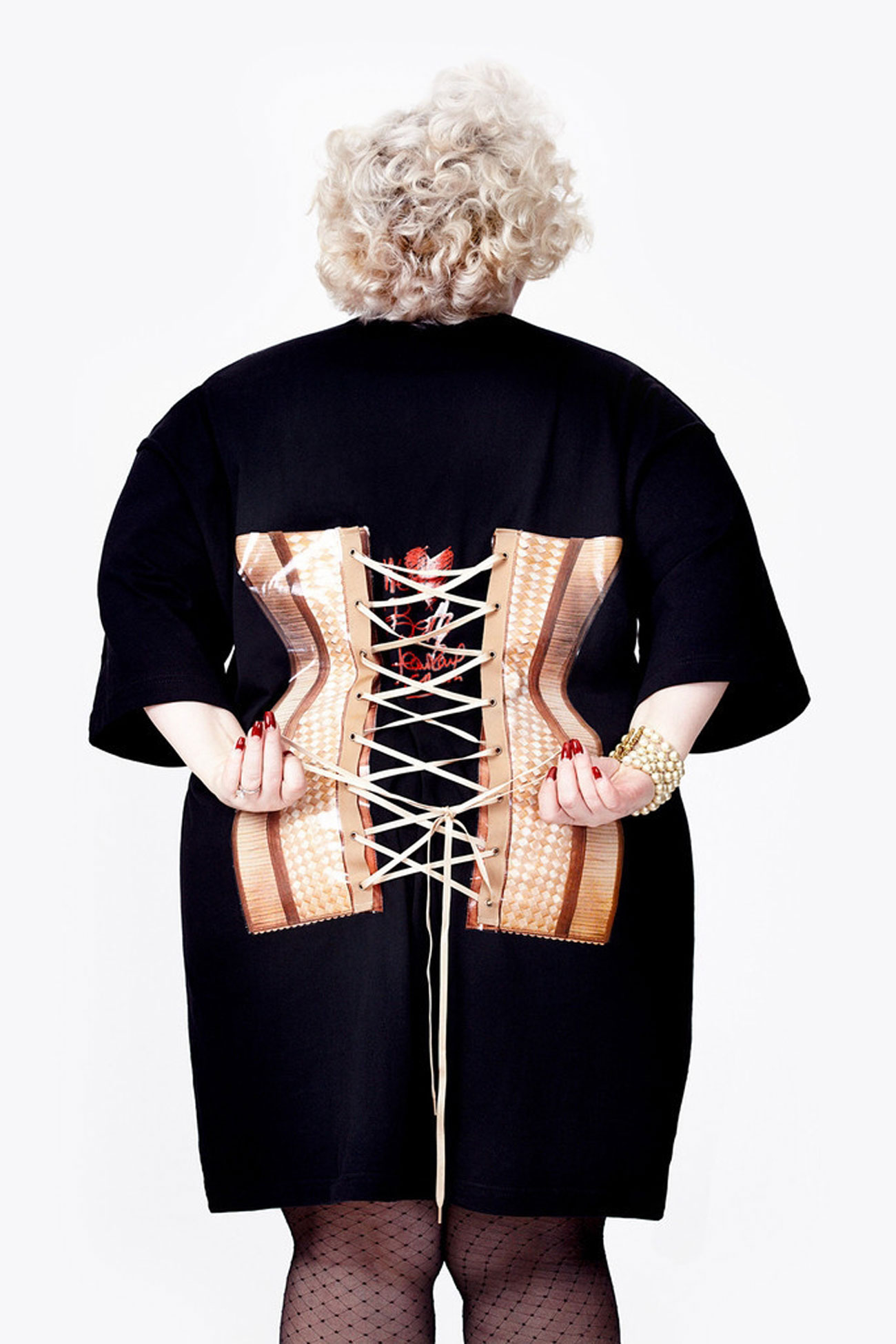 jean paul gaultier beth ditto back