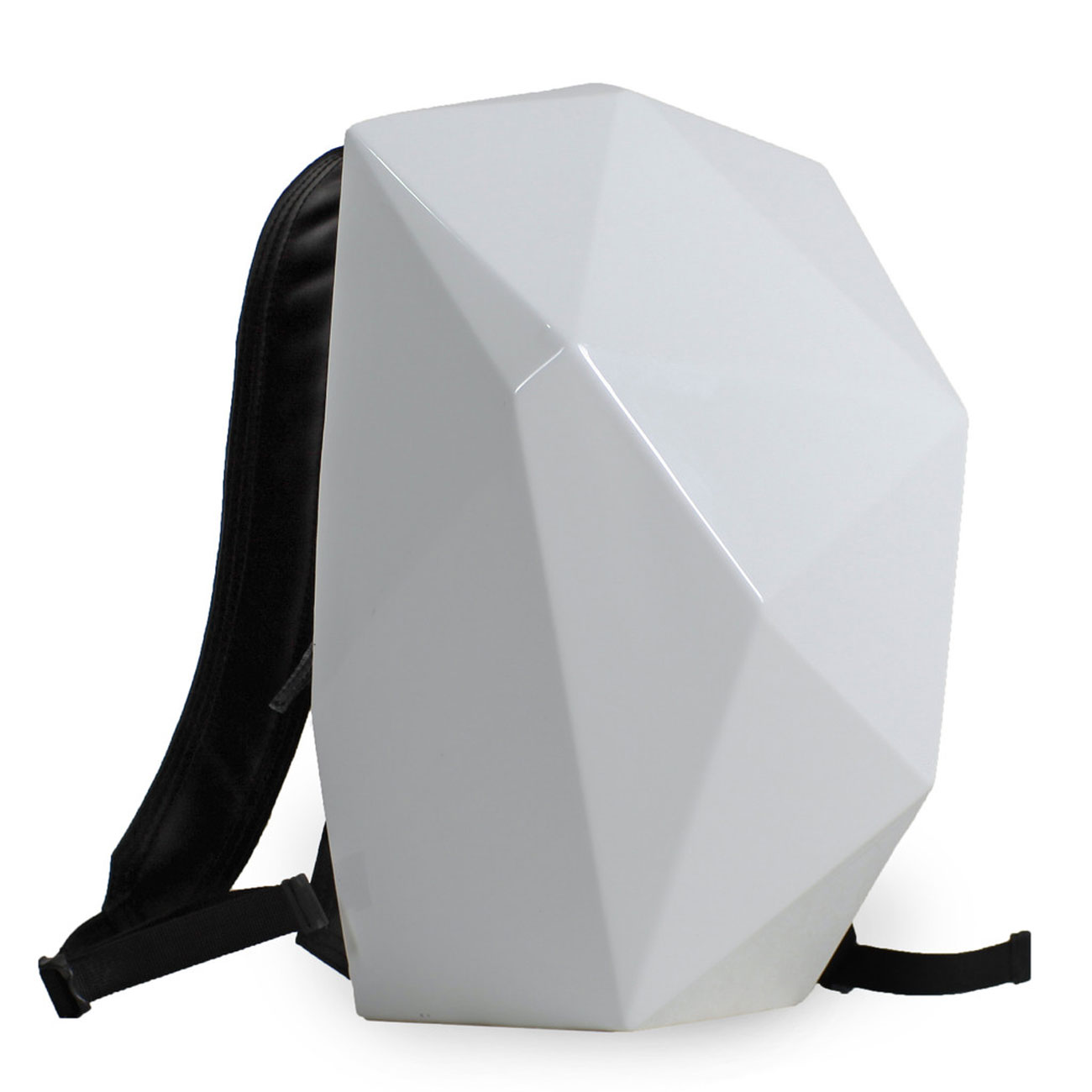 The One Backpack Shell white