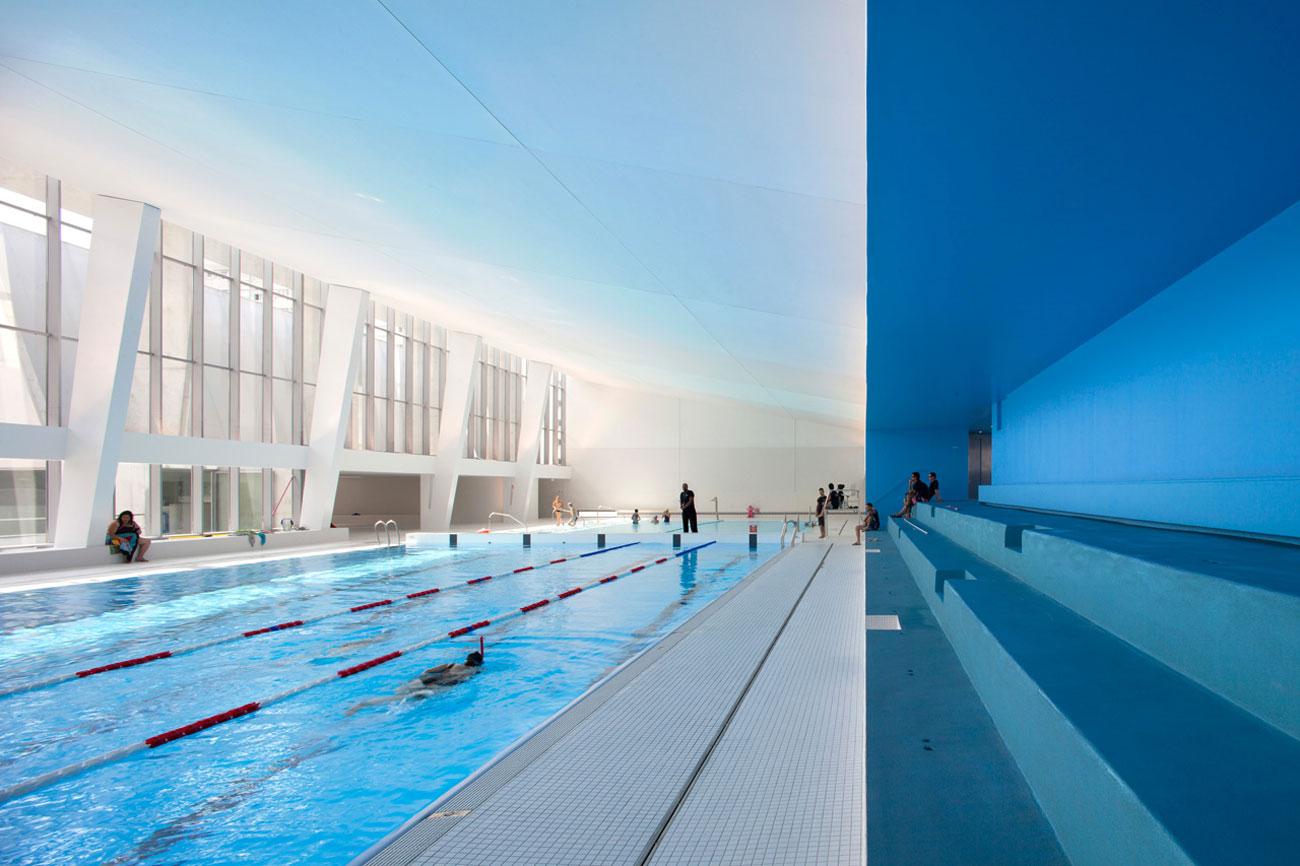 Dominique Coulon et Associés Swimming pool Bagneux