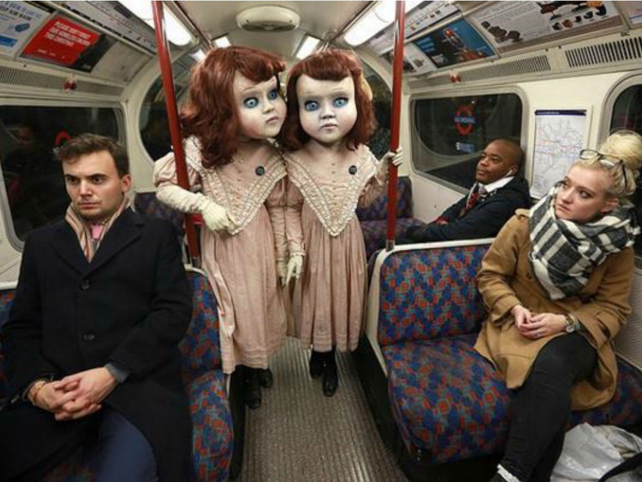 darren brown dolls london tube