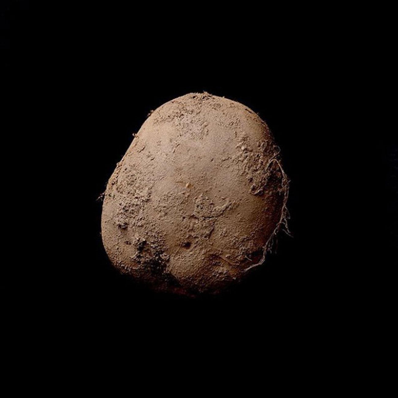 Kevin Abosch ritratto di patata