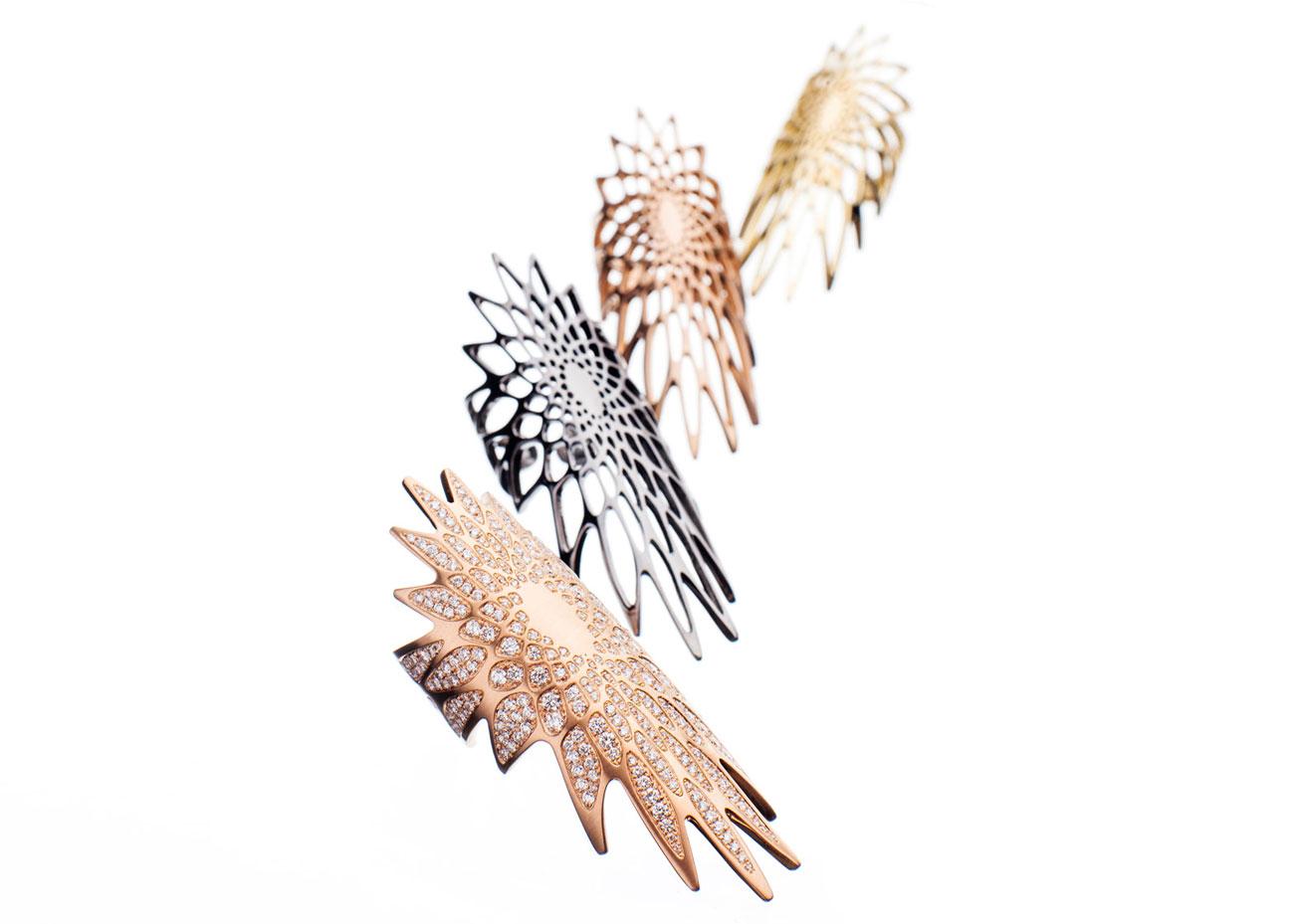 Silene jewellery collection Zaha Hadid
