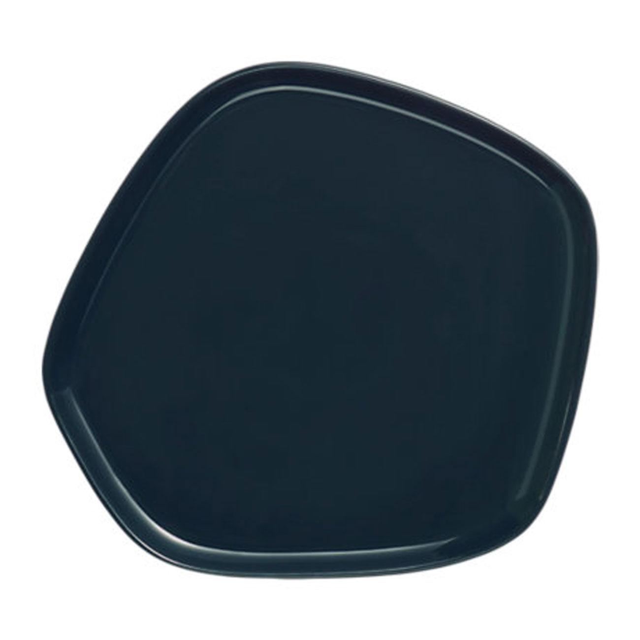iittala X Issey Miyake plate black