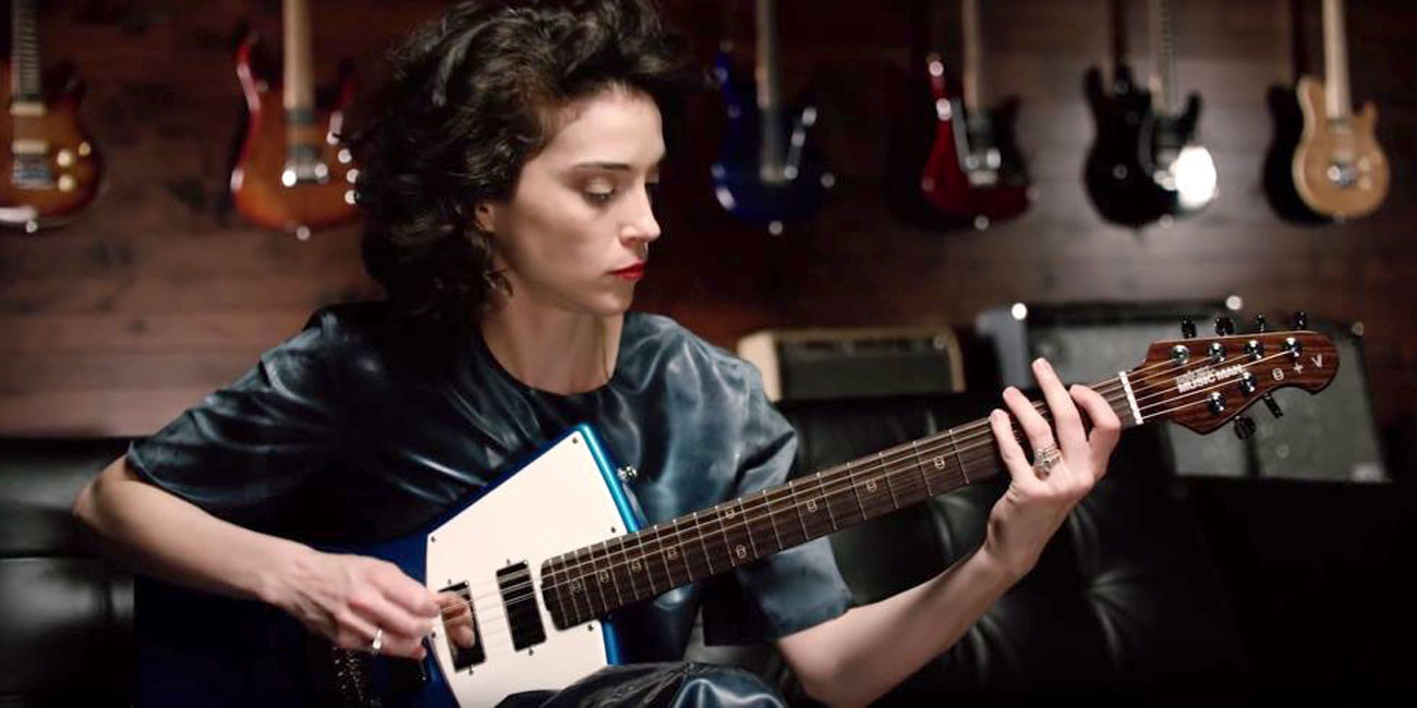 Ernie Ball Music Man st. vincent signature