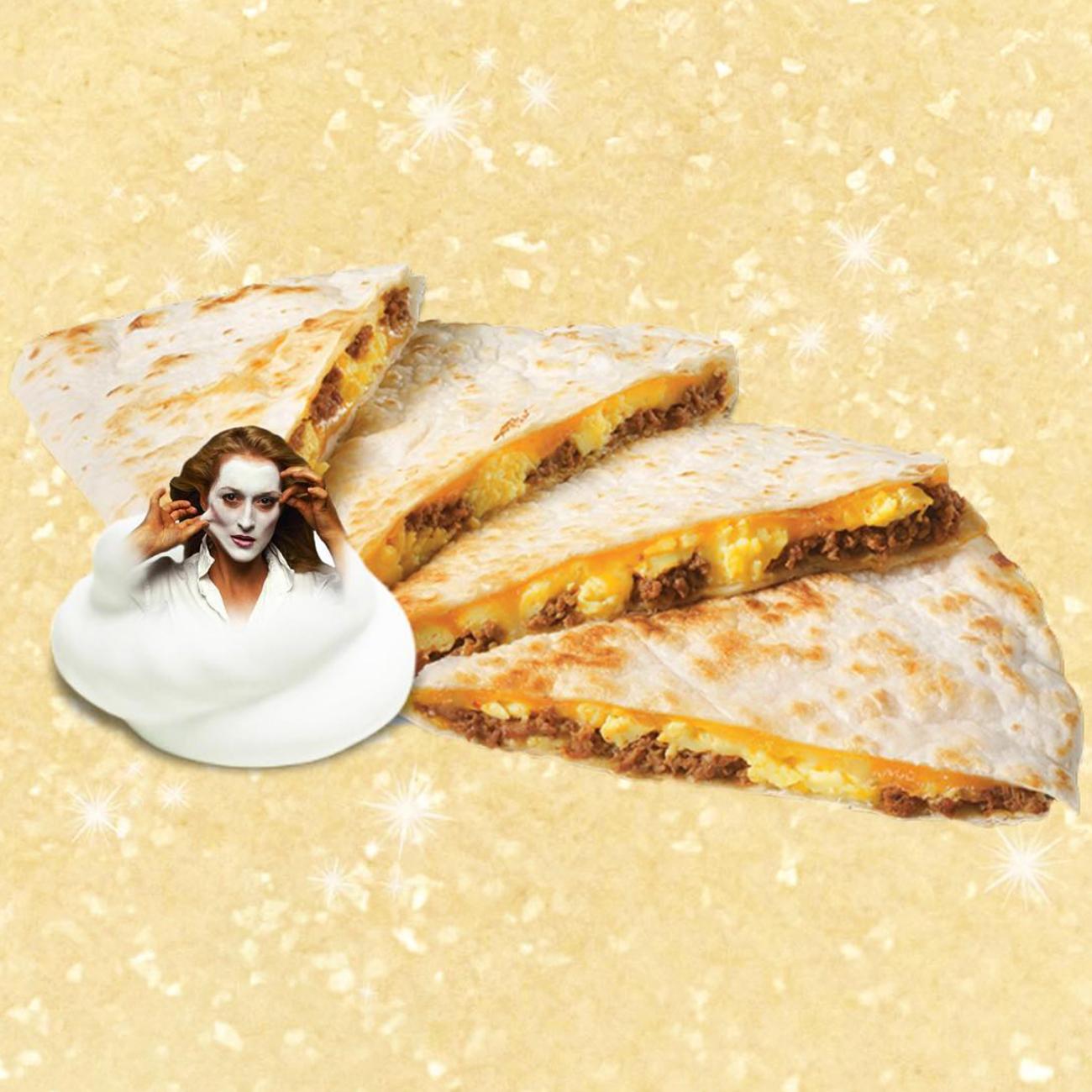taste of streep quesadilla