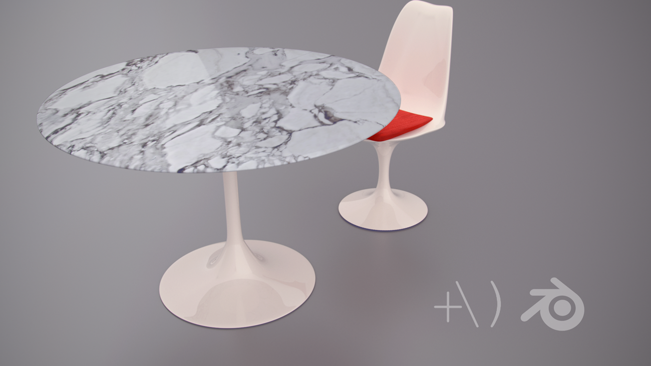 Saarinen Table and chair