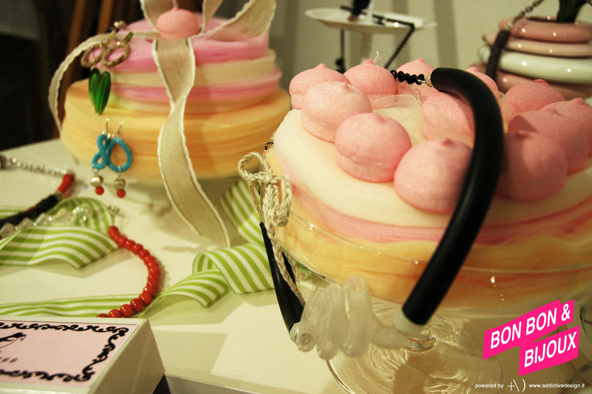 bonbon & bijoux collana e marshmallows