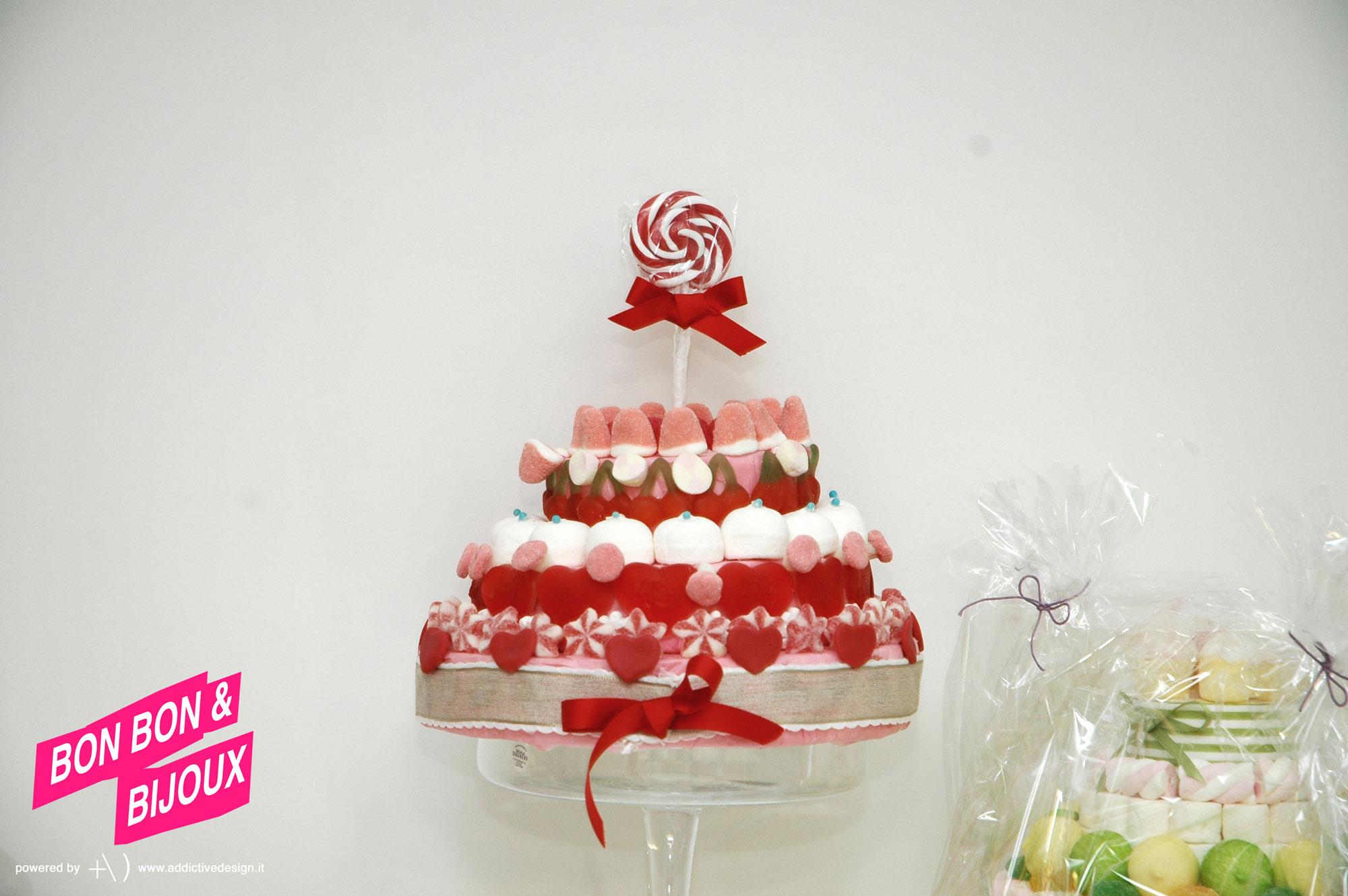 bonbon & bijoux marshmallows cake