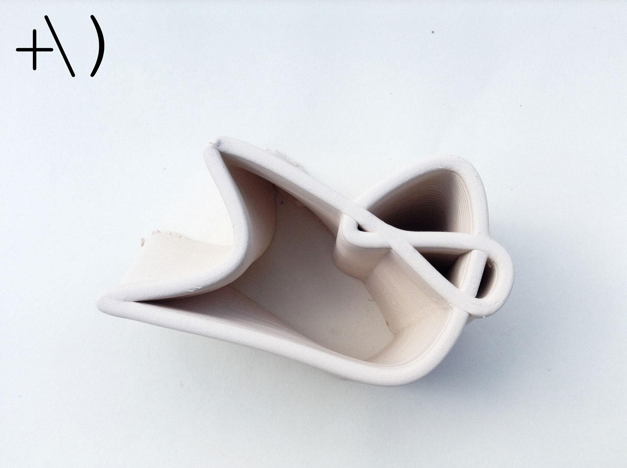 computational clay design intersezione dall'alto
