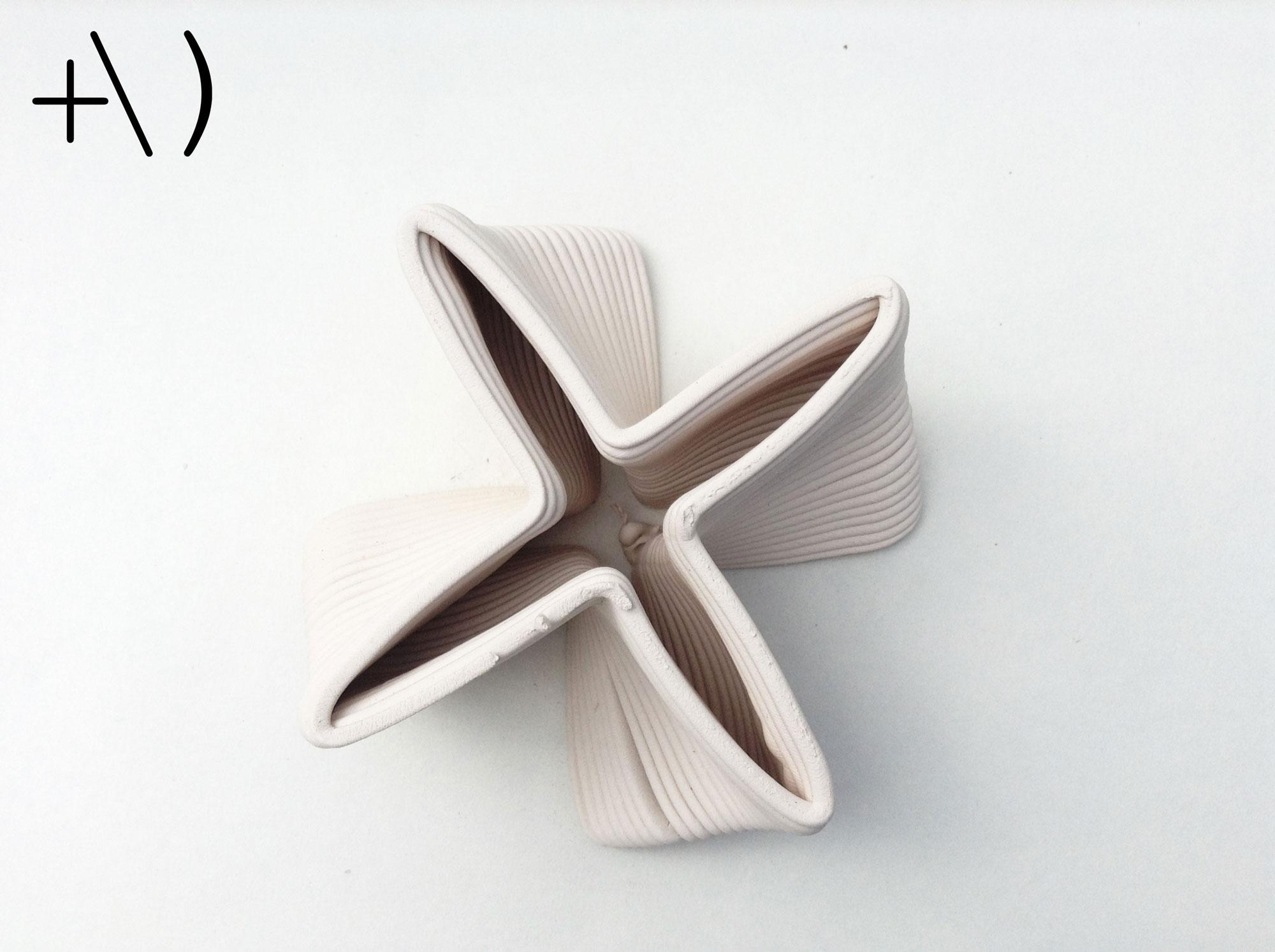 computational clay design super formula torsione dall'alto