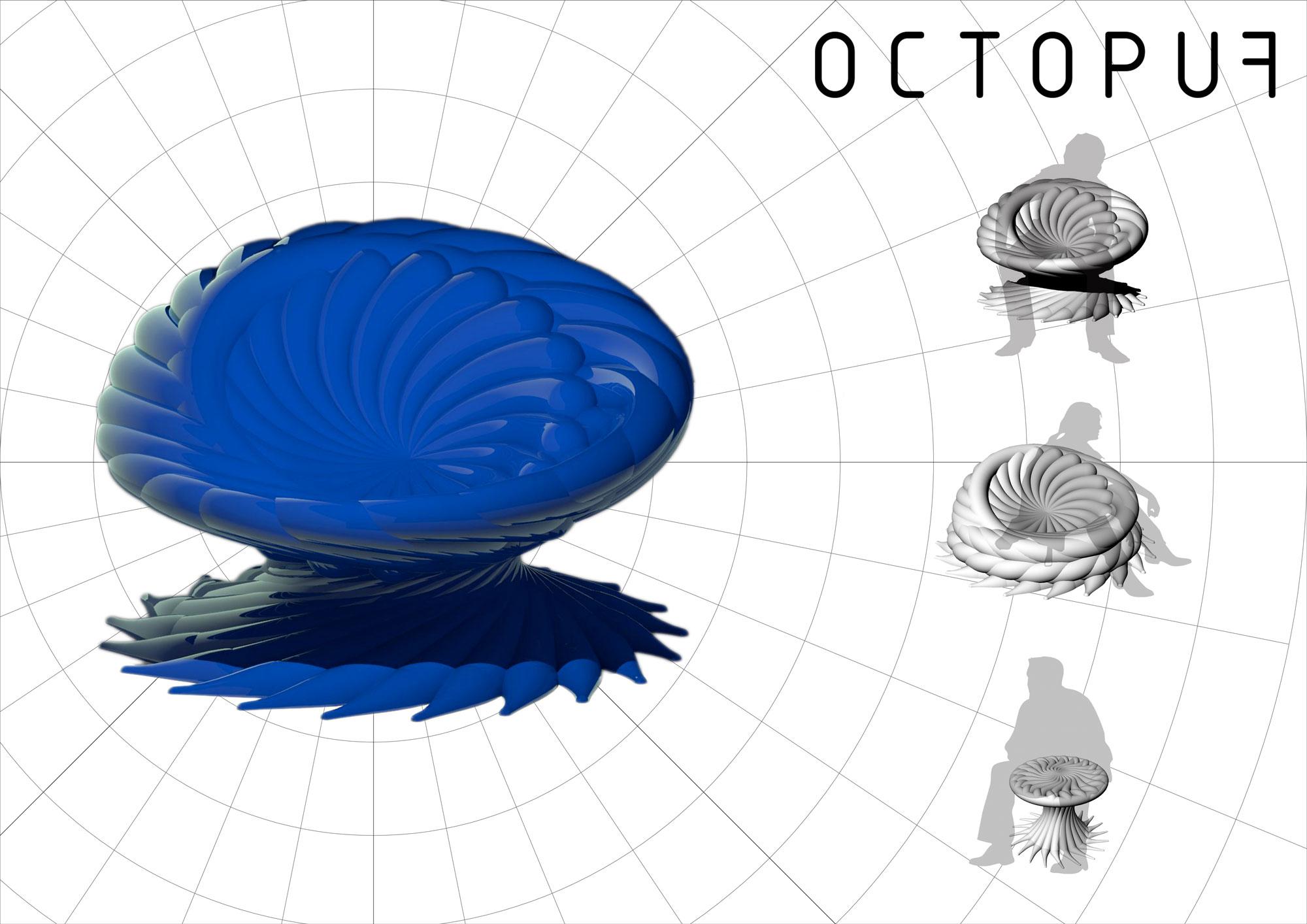 OctopuF parametric chair