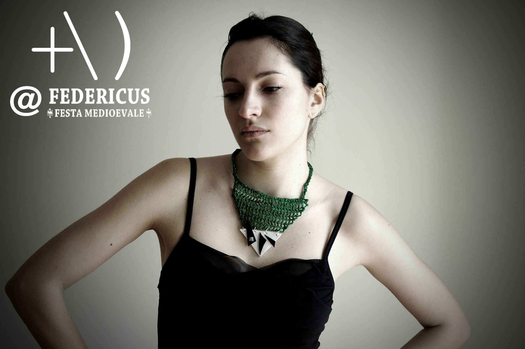 medieval inspired necklace federicus