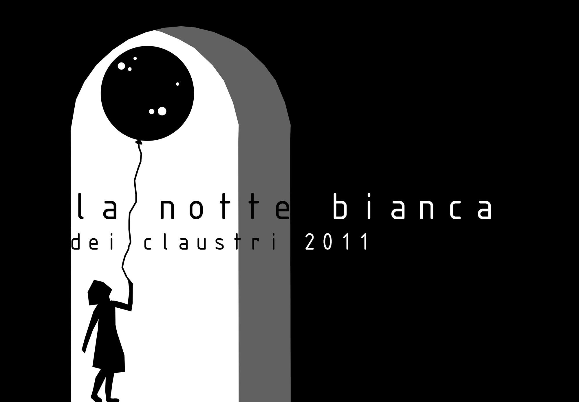 proposta logo notte bianca dei claustri 2011