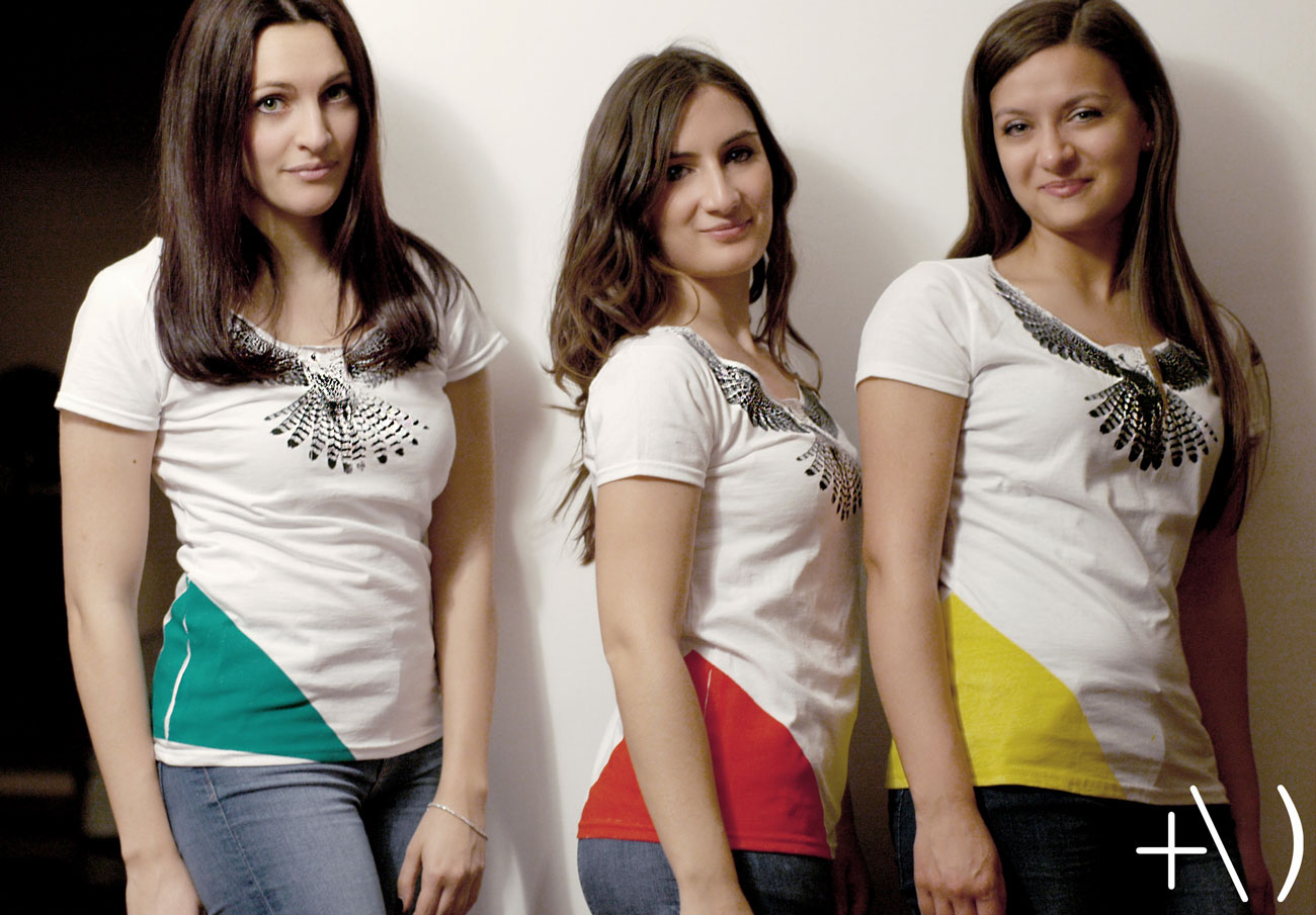 federicus 2015 female t-shirt falco colors