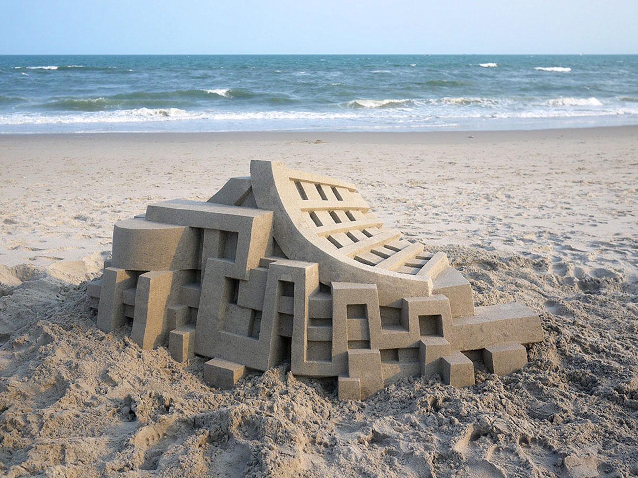 Calvin Seibert sand