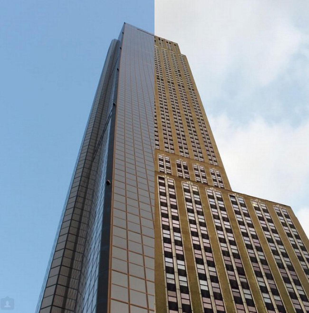 LISEOK e SHINDANBI buildings