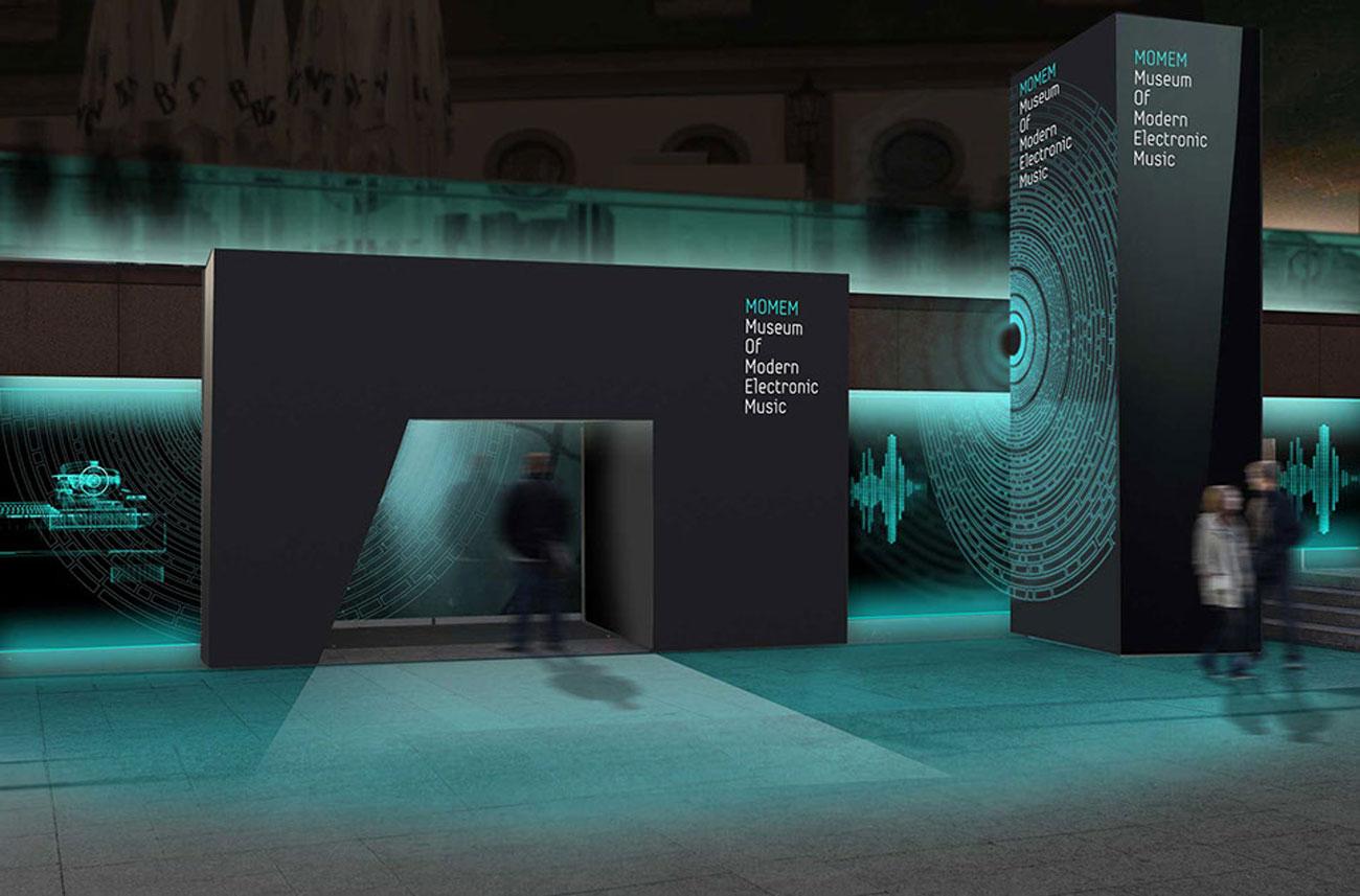 Frankfurt electronic music museum concept