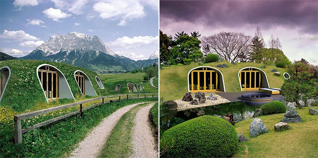 Cosy Green Magic Homes