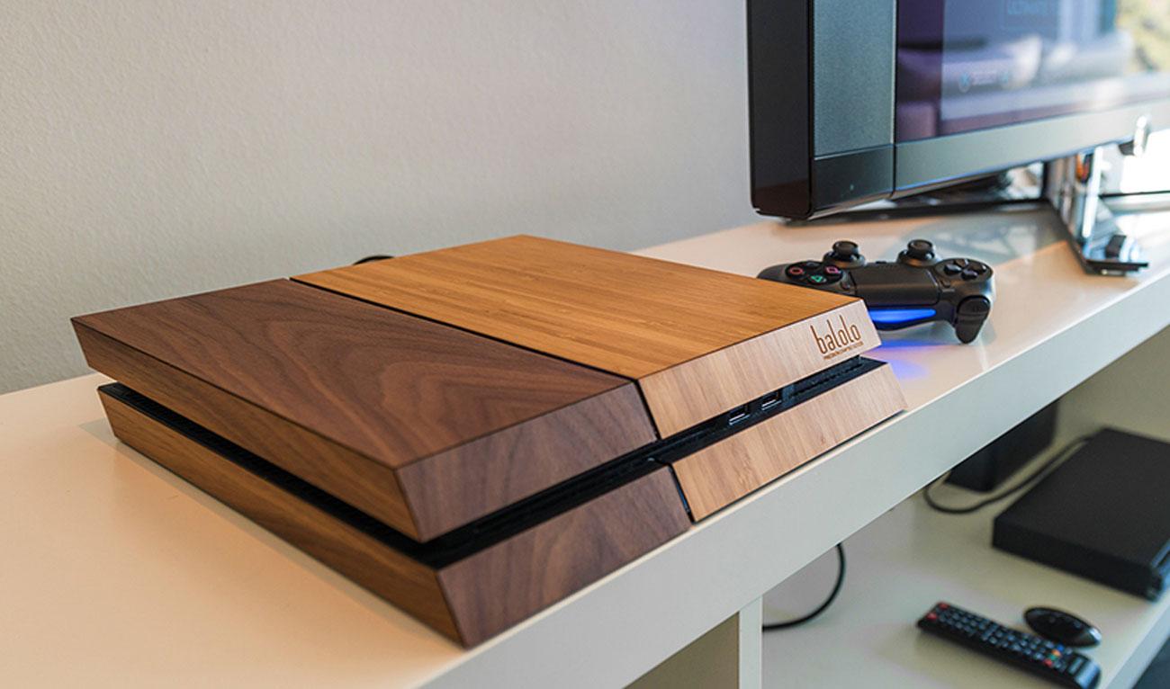 Ballolo ps4 wood case