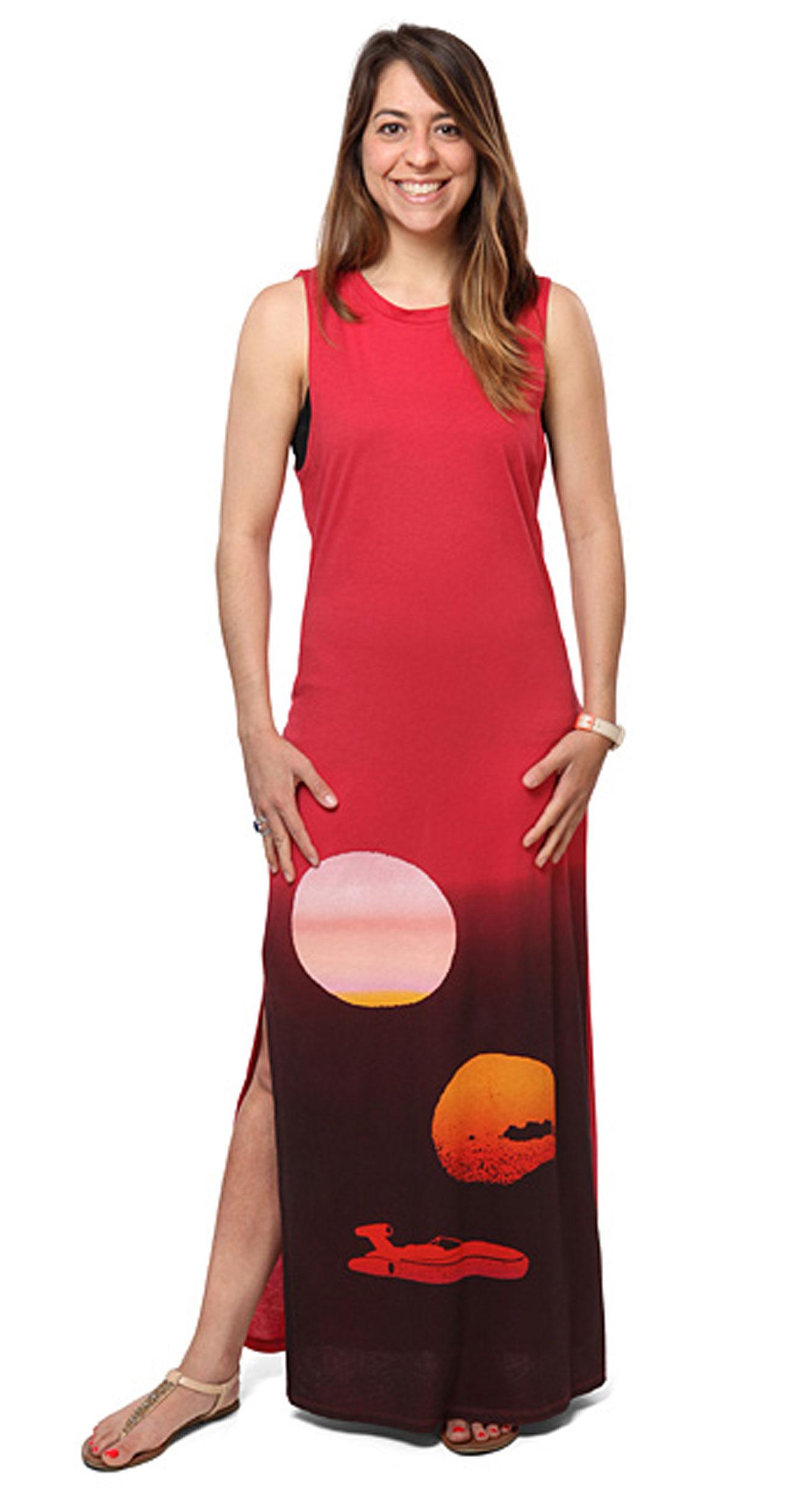 tatooine maxi dress