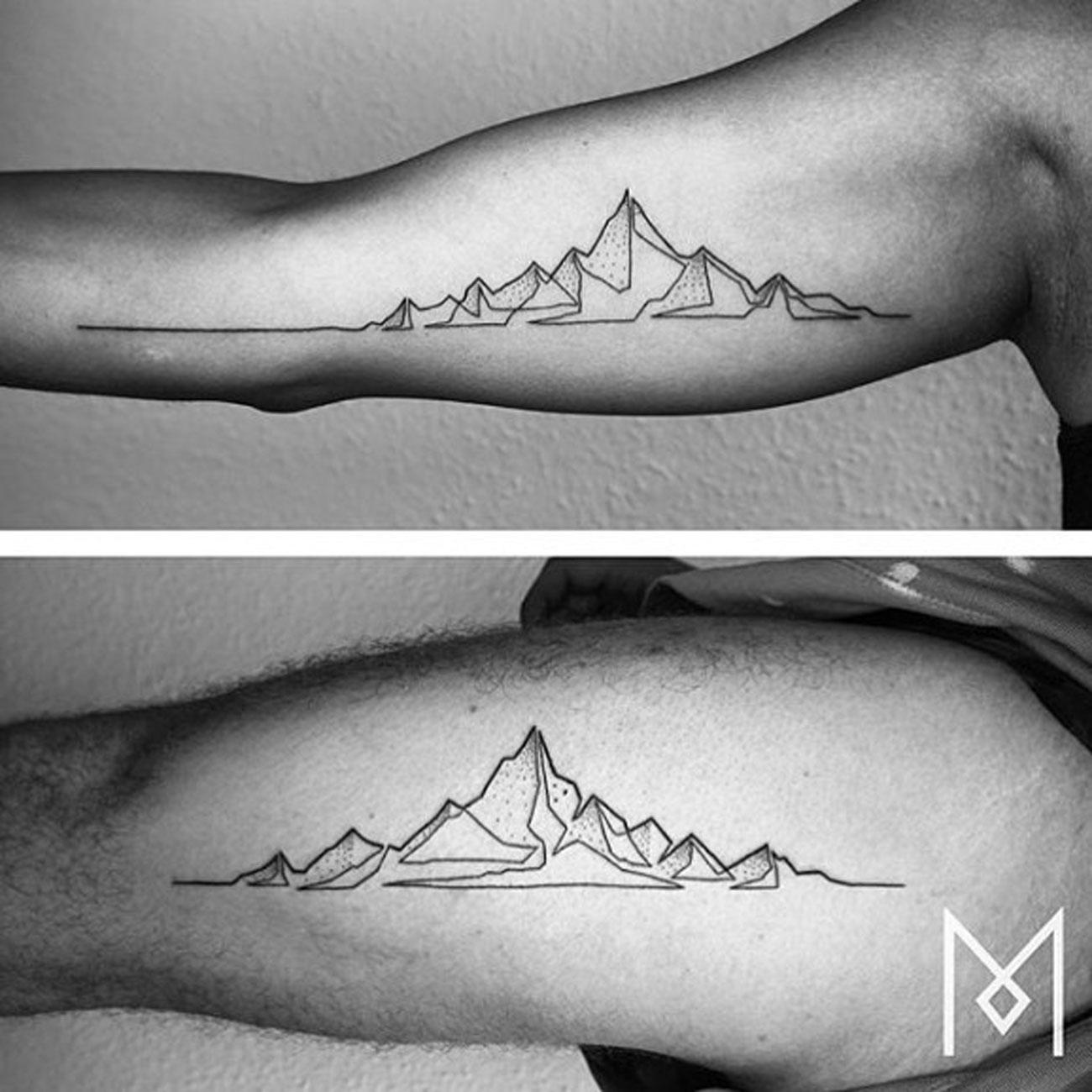 mo ganji mountains