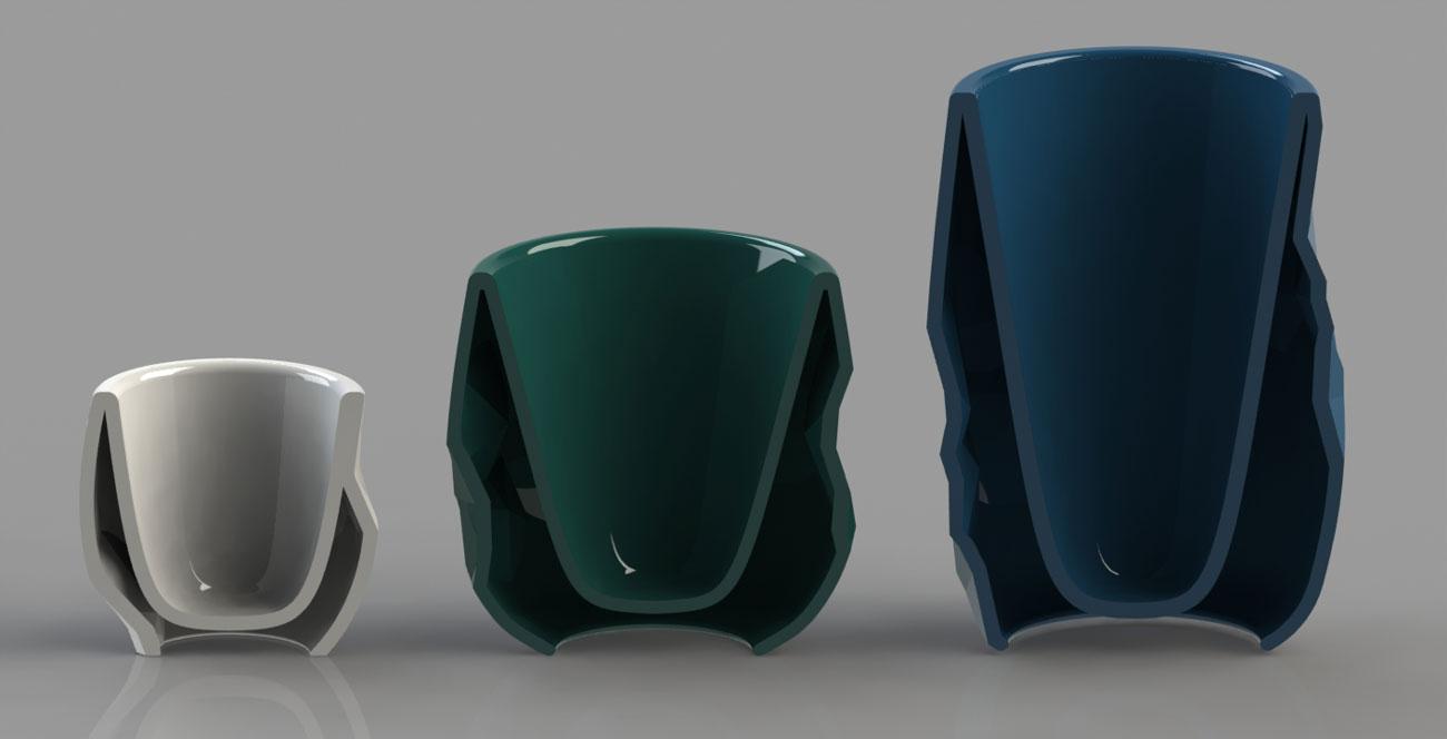 Jade Crompton Digital Ceramics section