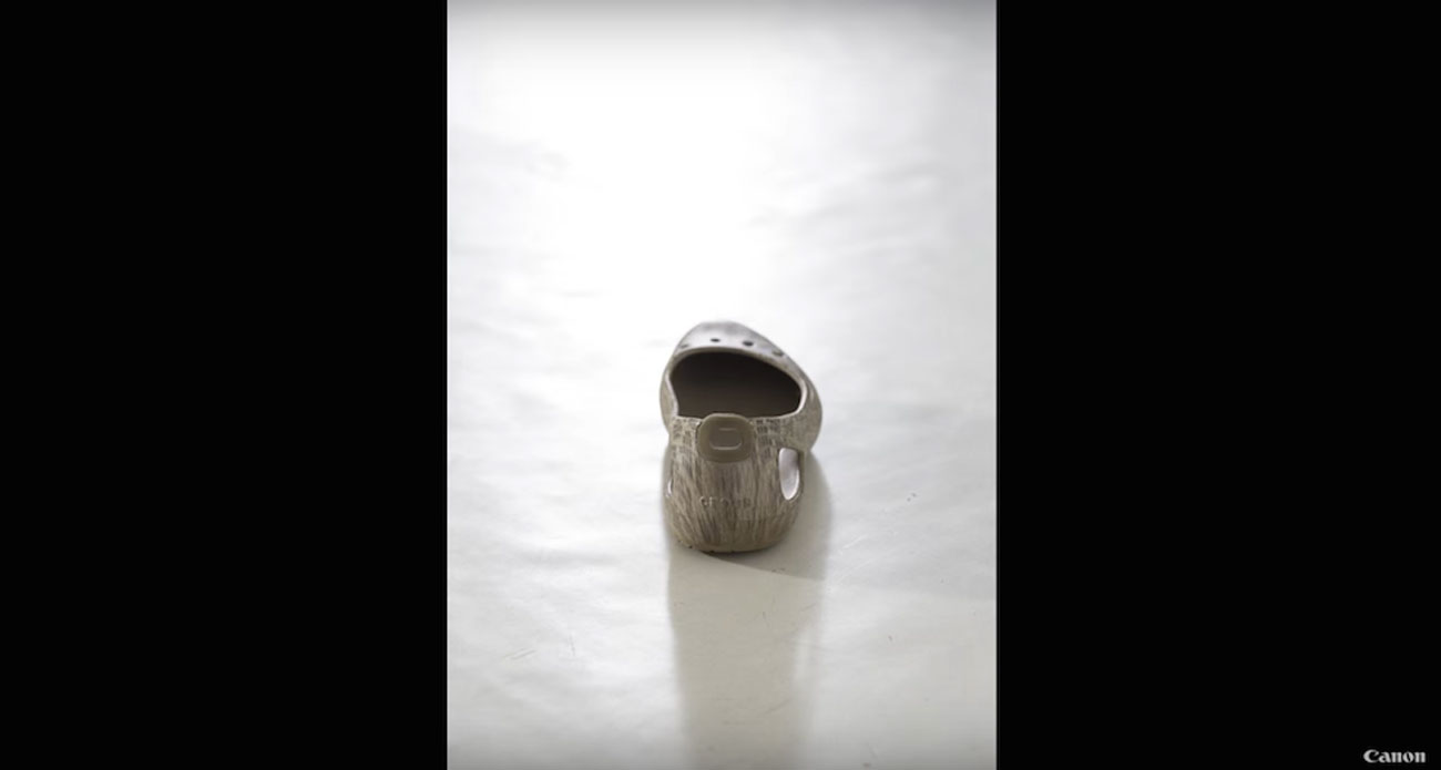 Canon Australia blank shoe